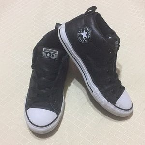 Converse Kids Leather Sneakers